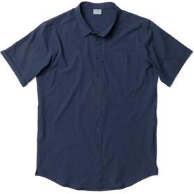 Houdini SS-skjorte Herrer, blue illusion